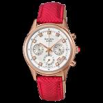 นาฬิกา คาสิโอ Casio SHEEN RED COLOR SERIES รุ่น SHE-5023GL-7B ของแท้ รับประกัน1ปี