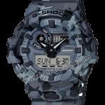 นาฬิกา Casio G-Shock Special Color GA-700CM Camouflage series รุ่น GA-700CM-8A (พรางเทา) ของแท้ รับประกัน1ปี