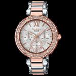 นาฬิกา คาสิโอ Casio SHEEN MULTI-HAND SHE-3061 series รุ่น SHE-3061SPG-7A ของแท้ รับประกัน1ปี