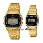 """นาฬิกา คาสิโอ Casio SETคู่รัก รุ่น A159WGED-1 + L670WGAD-1 """"Made in Japan"""" ของแท้ รับประกัน 1 ปี"""