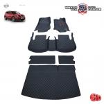 พรมรถยนต์ 6D Leather Car Mat จำนวน 6 ชิ้น NISSAN ALL NEW X-TRAIL HyBride 5 ที่นั่ง 2015-2019