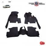 พรมเข้ารูป 6 D Leather Car Mat จำนวน 3 ชิ้น MERCEDES BENZ E COUPE 2 DOOR W207