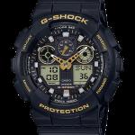 นาฬิกา Casio G-Shock Special Color BLACK&GOLD XTRA Color series รุ่น GA-100GBX-1A9 ของแท้ รับประกัน1ปี