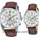 นาฬิกา Casio SETคู่รัก EDIFICE x SHEEN รุ่น EFR-560L-7A + SHE-3060L-7A ของแท้ รับประกัน 1 ปี