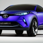 Toyota C-HR Concept รถ Crossover ที่จะมาแข่ง HRV และ Juke