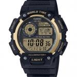 นาฬิกา Casio 10 YEAR BATTERY AE-1400 series รุ่น AE-1400WH-9AV ของแท้ รับประกัน 1 ปี