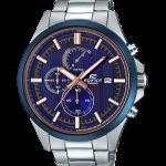 นาฬิกา Casio EDIFICE CHRONOGRAPH Racing Blue concept series EFV-520 series รุ่น EFV-520DB-2AV ของแท้ รับประกัน 1 ปี