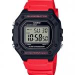 นาฬิกา Casio STANDARD DIGITAL W-218 series รุ่น W-218H-4BV ของแท้ รับประกัน1ปี