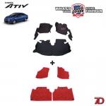 พรมรถยนต์ 7 D Anti Dust รถ TOYOTA ALL NEW YARIS ATIV 4 Door ปี 2017-2020 จำนวน 3+4 ชิ้น