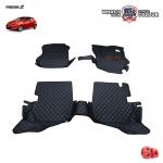 พรมเข้ารูป 6 D Leather Car Mat จำนวน 3 ชิ้น MAZDA 2 4-5 DOOR 2009-2014
