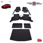 พรมรถยนต์ 6D Leather Car Mat จำนวน 7 ชิ้น MAZDA CX-3
