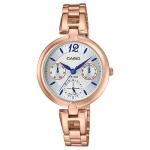 นาฬิกา Casio STANDARD Analog-Ladies' รุ่น LTP-E401PG-7AV ของแท้ รับประกัน 1 ปี