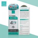 Vitara Anti Acne gel 10 g. รักษาสิวอุดตัน สิวอักเสบ และรอยแผลเป็น 2in1 Burnova