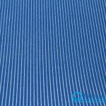 ผ้าสักหลาด พิมพ์ลายเส้น สีน้ำเงิน