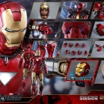 Hot Toys MMS378 D17 Iron Man Mark V The Avengers 1/6 Scale Special Edition Diecast NEW