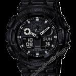 นาฬิกา Casio G-Shock Limited Black Leather Texture series รุ่น GA-100BT-1A ของแท้ รับประกัน1ปี
