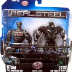 Jakks Real Steel Movie DELUXE Action Figure 2Pack Atom vs Zeus NEW