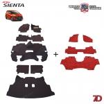 พรมรถยนต์ 7 D Anti Dust รถ TOYOTA SIENTA ปี 2017
