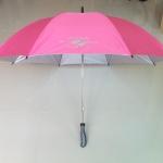 ร่มกอล์ฟ30นิ้ว มือเปิด โครงโลหะ ผ้าUV สีพื้น ปลอกPVC คละสี