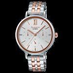 นาฬิกา คาสิโอ Casio SHEEN MULTI-HAND SHE-3064 series รุ่น SHE-3064SPG-7A ของแท้ รับประกัน1ปี