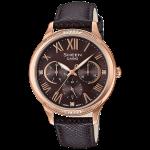 นาฬิกา คาสิโอ Casio SHEEN MULTI-HAND SHE-3058 series รุ่น SHE-3058PGL-5A ของแท้ รับประกัน1ปี