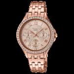นาฬิกา คาสิโอ Casio SHEEN MULTI-HAND SHE-3062 series รุ่น SHE-3062PG-9A ของแท้ รับประกัน1ปี