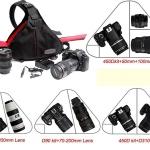 กระเป๋ากล้อง3เหลี่ยม Caden K-1
