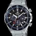 นาฬิกา Casio EDIFICE CHRONOGRAPH Carbon Fober&Solar Powered รุ่น EQS-800CDB-1AV ของแท้ รับประกัน 1 ปี