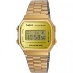 นาฬิกา คาสิโอ Casio STANDARD DIGITAL Vintage รุ่น A168WEGM-9 (สี Gold) ของแท้ รับประกัน 1 ปี