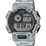 นาฬิกา Casio 10 YEAR BATTERY AE-1400 series รุ่น AE-1400WHD-1AV ของแท้ รับประกัน 1 ปี