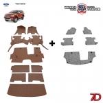พรมรถยนต์ 7 D Anti Dust รถ FORD ALL NEW EVEREST 2015-2020 จำนวน 9+5 ชิ้น