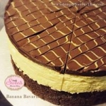 ฺBanana Bavarian Mousse Cake