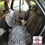ผ้าปูกันเปื้อนในรถยนต์ : สีเทาลายหมา