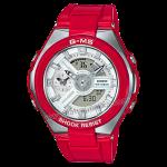 """นาฬิกา Casio Baby-G G-MS Limited """"G-Steel Lady"""" MSG-400 series รุ่น MSG-400-4A สีแดง (ไม่วางขายในไทย) ของแท้ รับประกัน1ปี"""