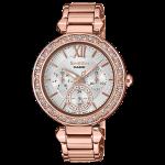นาฬิกา คาสิโอ Casio SHEEN MULTI-HAND SHE-3061 series รุ่น SHE-3061PG-7A ของแท้ รับประกัน1ปี