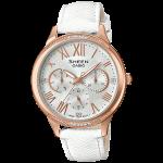 นาฬิกา คาสิโอ Casio SHEEN MULTI-HAND SHE-3058 series รุ่น SHE-3058LTD-7A ของแท้ รับประกัน1ปี