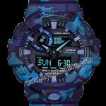 นาฬิกา Casio G-Shock Special Color GA-700CM Camouflage series รุ่น GA-700CM-2A (พรางน้ำเงิน) ของแท้ รับประกัน1ปี