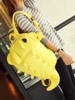 มาใหม่ [สีเหลือง] กระเป๋าเป้สะพายหลัง Backpack แฟชั่นเกาหลีทั้งผู้ชายและผู้หญิง