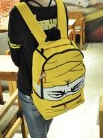 [สีเหลือง] กระเป๋าสะพายหลัง   เป้เดินทาง   เป้หนังผู้ชาย   เป้ผู้หญิง สไตล์แฟชั่นเกาหลี