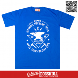 เสื้อยืด OLDSKULL: ULTIMATE HD | BLUE