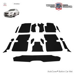 พรมกระดุม Super Save รถ Toyota Camry 2007-2011 ชุด Full จำนวน 14 ชิ้น