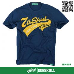 เสื้อยืด 7TH STREET - รุ่น SENSE | Navy Blue