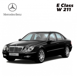 พรมดักฝุ่นไวนิล รถ Benz E Class W 211 จำนวน 5 ชิ้น
