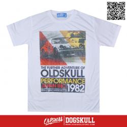 เสื้อยืด OLDSKULL : EXPRESS 38 | WHITE