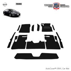 พรมดักฝุ่นไวนิล รถ Nissan New Teana 2013-2018 (J 33) ชุด Full จำนวน 12 ชิ้น