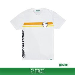 เสื้อยืด 7TH STREET - รุ่น NEED FOR STREET | WHITE