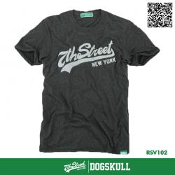 เสื้อยืด 7TH STREET - รุ่น 7th Street | Top Dry Black