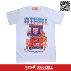 เสื้อยืด OLDSKULL : EXPRESS FUN GIRLS | WHTE XL