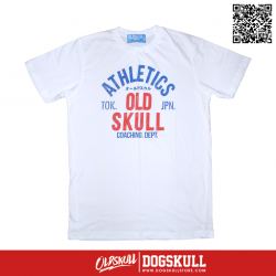 เสื้อยืด OLDSKULL: ULTIMATE #495 | White