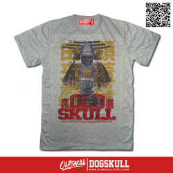 เสื้อยืด OLDSKULL EXPRESS: SAMULAI GHOST   GREY